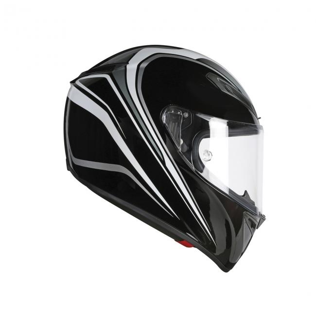 【AGV】VELOCE S FULMINE (黑/灰 )MULTI 全罩式安全帽 - 「Webike-摩托百貨」