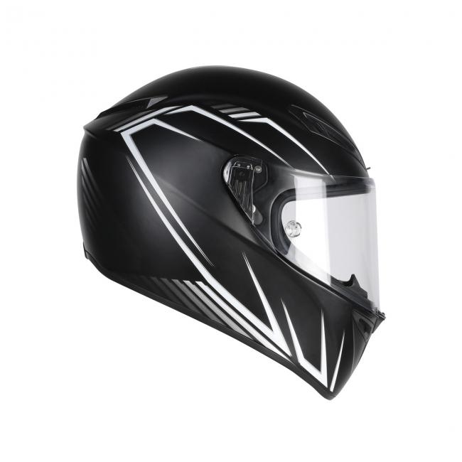 【AGV】VELOCE S PREDATORE (消光黑/白) MULTI 全罩式安全帽 - 「Webike-摩托百貨」