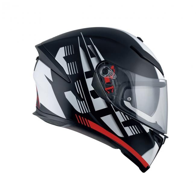 【AGV】K-5 S DARKSTORM (消光黑/紅) MULTI 全罩式安全帽 - 「Webike-摩托百貨」