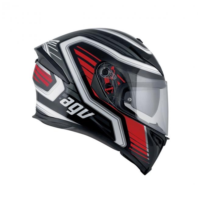 【AGV】K-5 S FIRERACE (黑/紅) MULTI 全罩式安全帽 - 「Webike-摩托百貨」