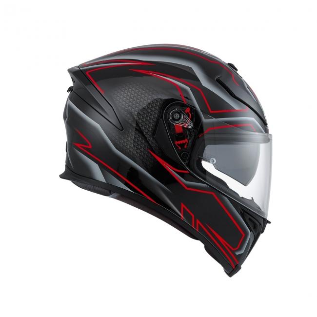 【AGV】K-5 S DEEP (黑/白/紅) MULTI 全罩式安全帽 - 「Webike-摩托百貨」