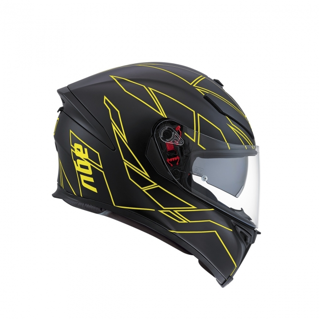 【AGV】K-5 S HERO (黑/黃) MULTI 全罩式安全帽 - 「Webike-摩托百貨」