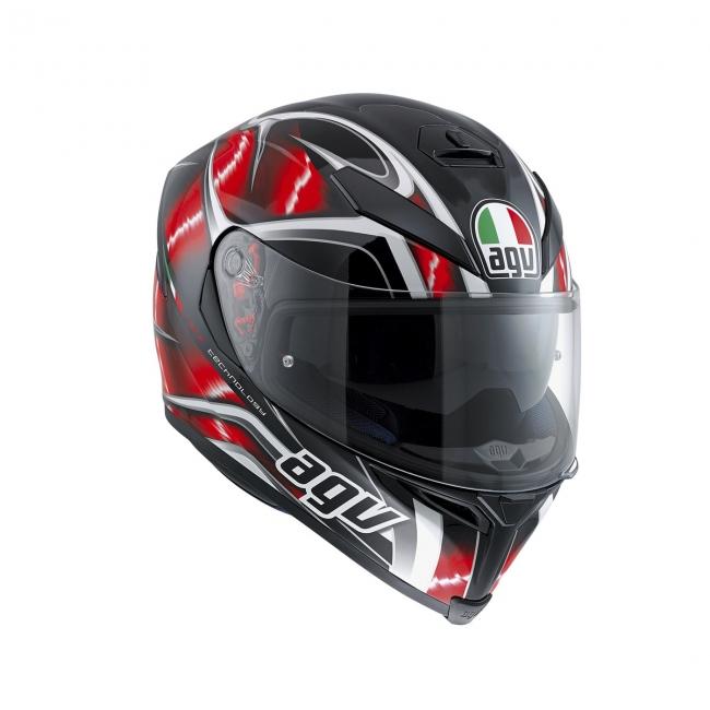【AGV】K-5 S HURRICANE (黑/紅/白) MULTI 全罩式安全帽 - 「Webike-摩托百貨」