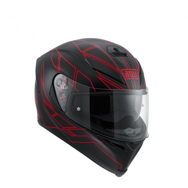 【AGV】K-5 S HERO (黑/紅) MULTI 全罩式安全帽 - 「Webike-摩托百貨」