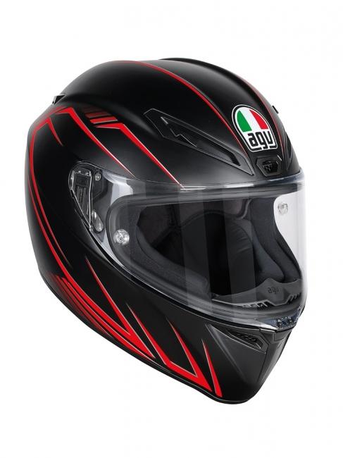 【AGV】VELOCE S PREDATORE (消光黑/紅) MULTI 全罩式安全帽 - 「Webike-摩托百貨」