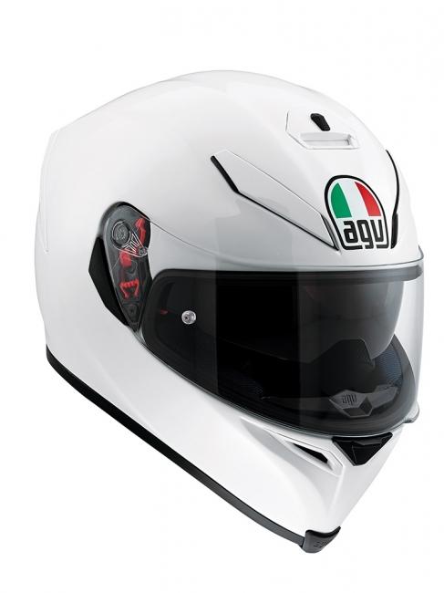 【AGV】K-5 S PEARL WHITE (珍珠白) MONO 全罩式安全帽 - 「Webike-摩托百貨」