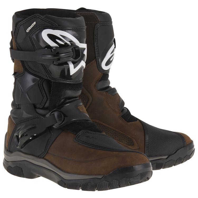 【alpinestars】BELIZE DRYSTAR 皮革冒險車靴 (棕) - 「Webike-摩托百貨」