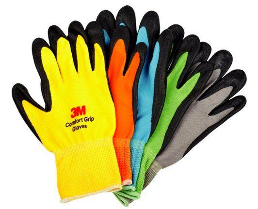 【3M】亮彩止滑耐磨手套 (綠) - 「Webike-摩托百貨」