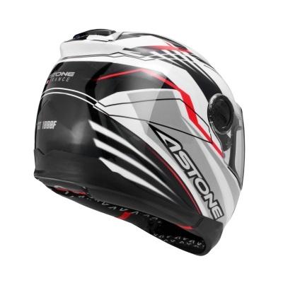 【ASTONE】【買就送】GT-1000F 全罩式安全帽 (彩繪白/紅) 送活動商品 - 「Webike-摩托百貨」