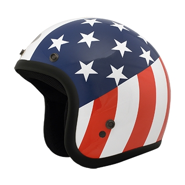 【THH】FH-356A 四分之三安全帽 (美國國旗)  - 「Webike-摩托百貨」