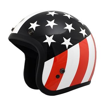 【THH】FH-356A 四分之三安全帽(美國國旗) - 「Webike-摩托百貨」