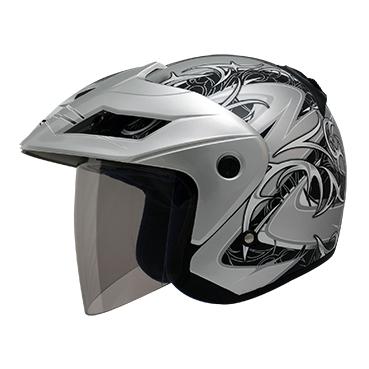 【THH】FH-375 四分之三安全帽(荊棘) - 「Webike-摩托百貨」