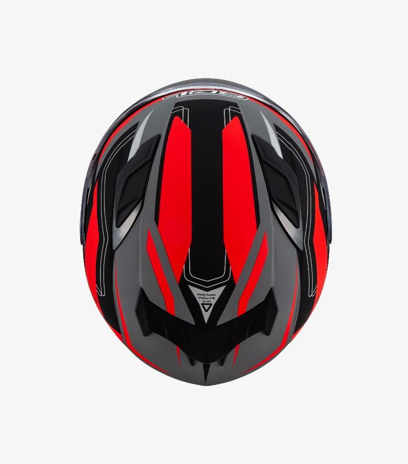 【SOL】SF-6 全罩式安全帽 超新星彩繪 (消光灰/黑/紅) - 「Webike-摩托百貨」