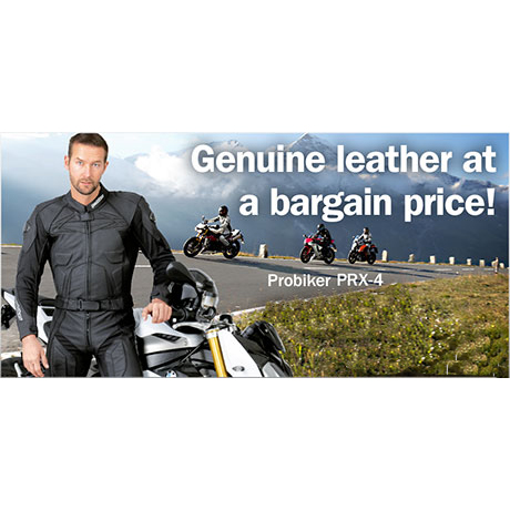 【PROBIKER】PRX-4 兩件式皮革防摔衣 - 「Webike-摩托百貨」