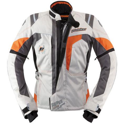 【PROBIKER】TORUING II KIDS 兒童摩托車防摔外套 (米白/橘) - 「Webike-摩托百貨」