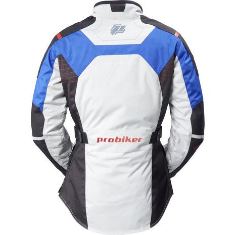【PROBIKER】Cordura 女款摩托車防摔外套 (灰/藍) - 「Webike-摩托百貨」