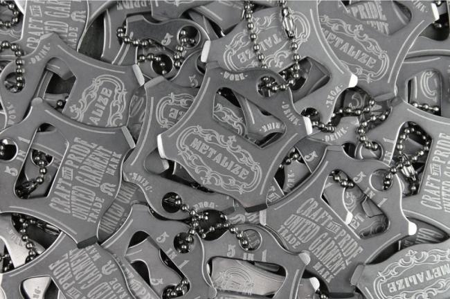 【Metalize Productions】五合一螺絲起子開瓶器吊飾+精美禮盒 - 「Webike-摩托百貨」