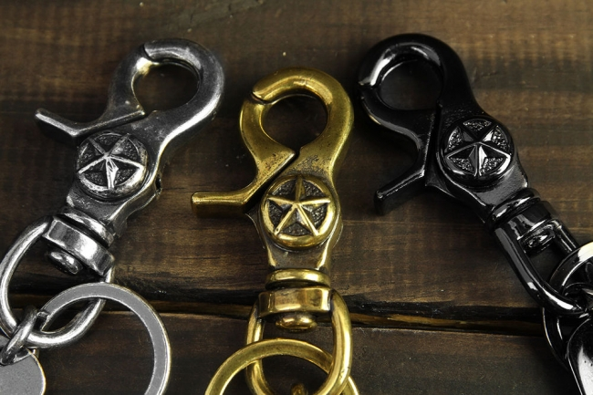 【Metalize Productions】星星釦軍牌鑰匙圈 - 「Webike-摩托百貨」