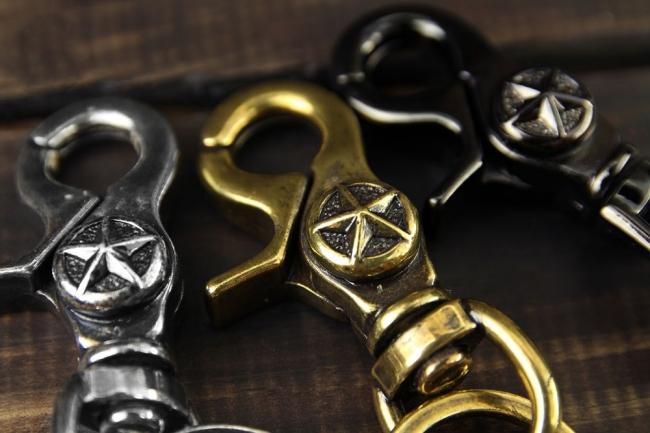 【Metalize Productions】星星釦軍牌鑰匙圈+精美禮盒 - 「Webike-摩托百貨」