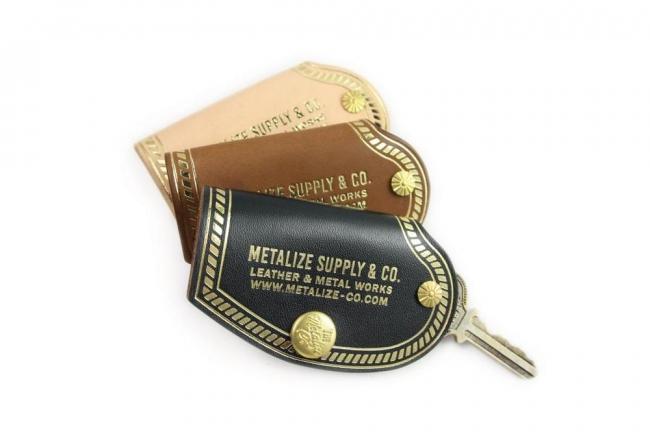 【Metalize Productions】METALIZE 復古車廠燙金鑰匙包 - 「Webike-摩托百貨」