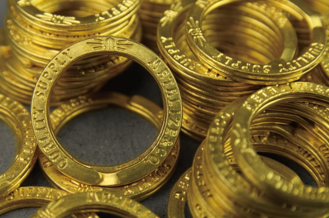 【Metalize Productions】METALIZE 黃銅雙圈+精美禮盒 - 「Webike-摩托百貨」