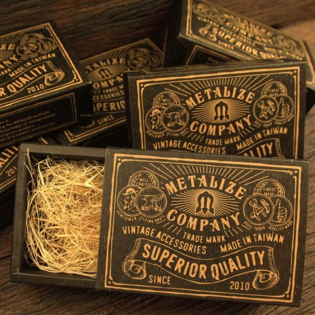 【Metalize Productions】Standard Storage 麻花圈銅片腰鍊+精美禮盒 - 「Webike-摩托百貨」