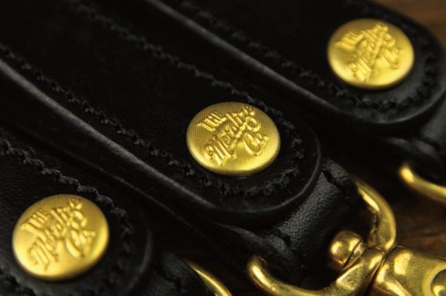 【Metalize Productions】Standard Storage 黃銅原色皮革鑰匙釦+精美禮盒 - 「Webike-摩托百貨」