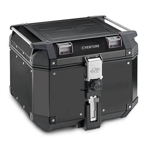 【KAPPA】42lt. MONOKEY 鋁合金後行李箱-黑色 - 「Webike-摩托百貨」