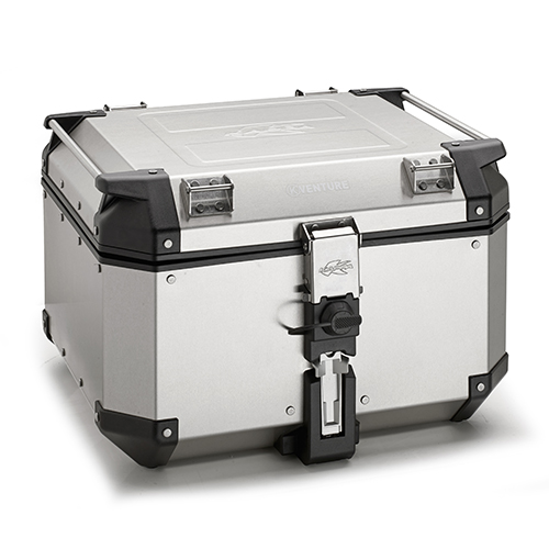 【KAPPA】48lt. MONOKEY 鋁合金後行李箱-銀色 - 「Webike-摩托百貨」