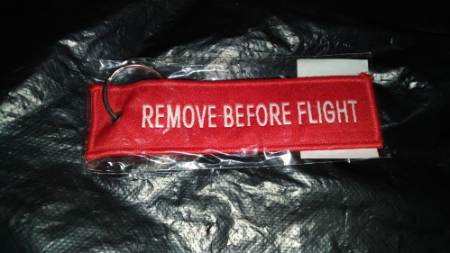 【Louis】REMOVE BEFORE FLIGHT 鑰匙圈商品評論