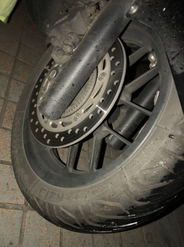 【MICHELIN】CITY GRIP M206 前輪【120/70-14 M/C 55P】輪胎商品評論