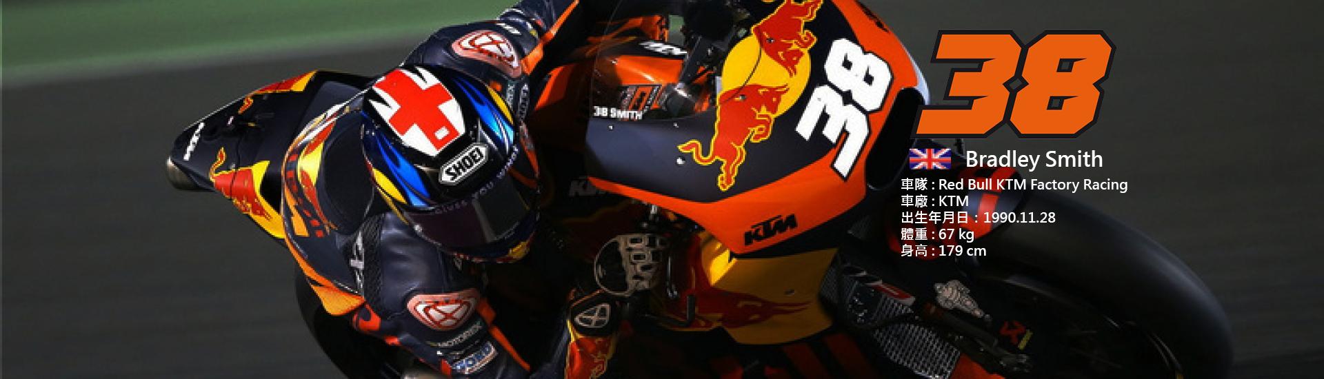 2018 MotoGP 【38】Bradley Smith